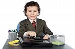 Les-enfants–les-entreprises–homme-d-affaires–ordinateur-97700