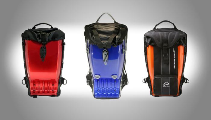 Les sacs à dos Boblbee dispo chez Motoblouz