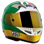 Casque moto replica integral AGV TI-TECH EVOLUTION AGOSTINI