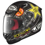 Casque moto replica integral X-lite X 802r replica Lorenzo Black Mamba