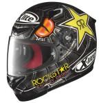 Casque moto replica integral X-lite X 802r replica Lorenzo Black Mamba