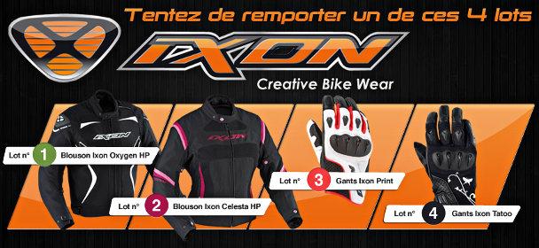Visuel jeu concours Ixon Motoblouz
