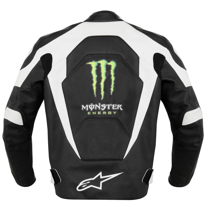 Veste moto homme monster energy