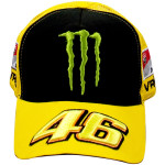 Casquette VR46 Trucker Monster jaune