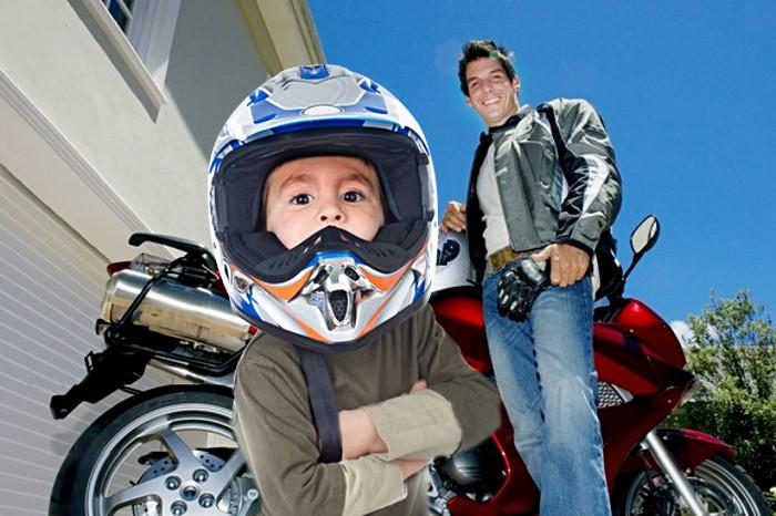 Choisir un casque moto enfant