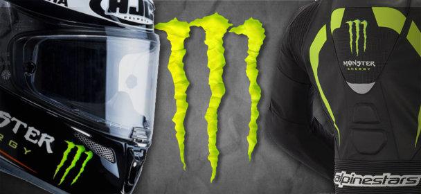Notre sélection de 6 produits moto Monster Energy