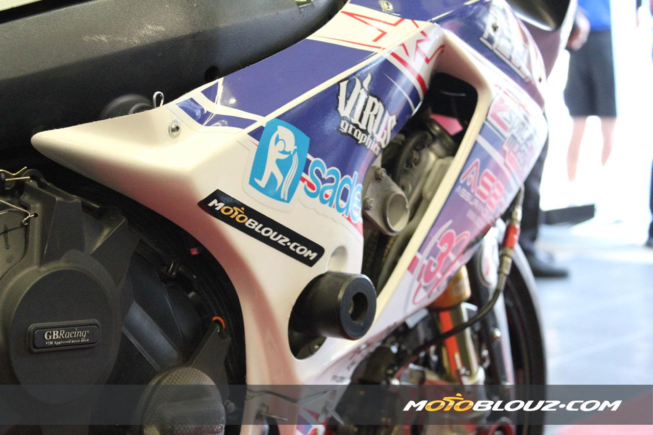 Motoblouz.com, sponsor du team R2CL