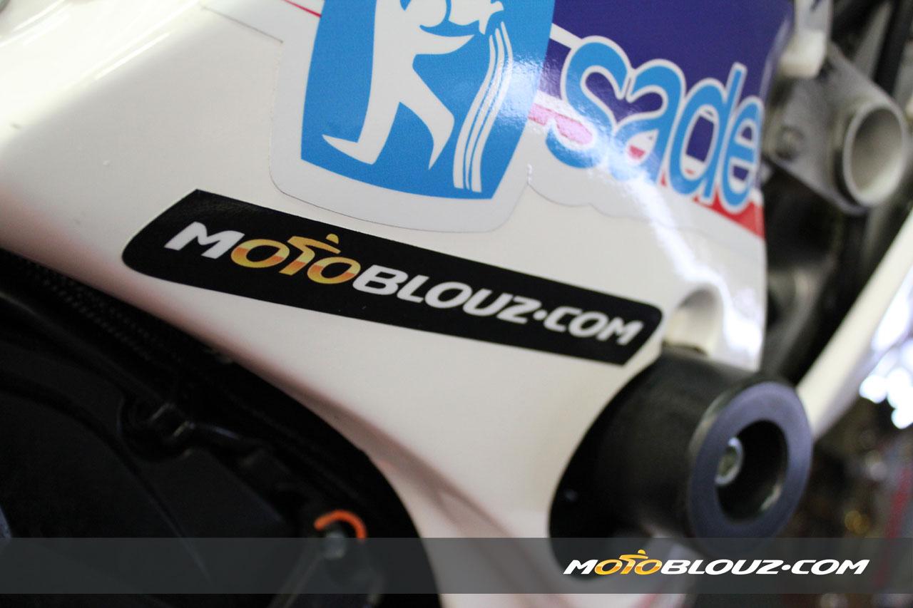 Motoblouz sponsor du team R2CL