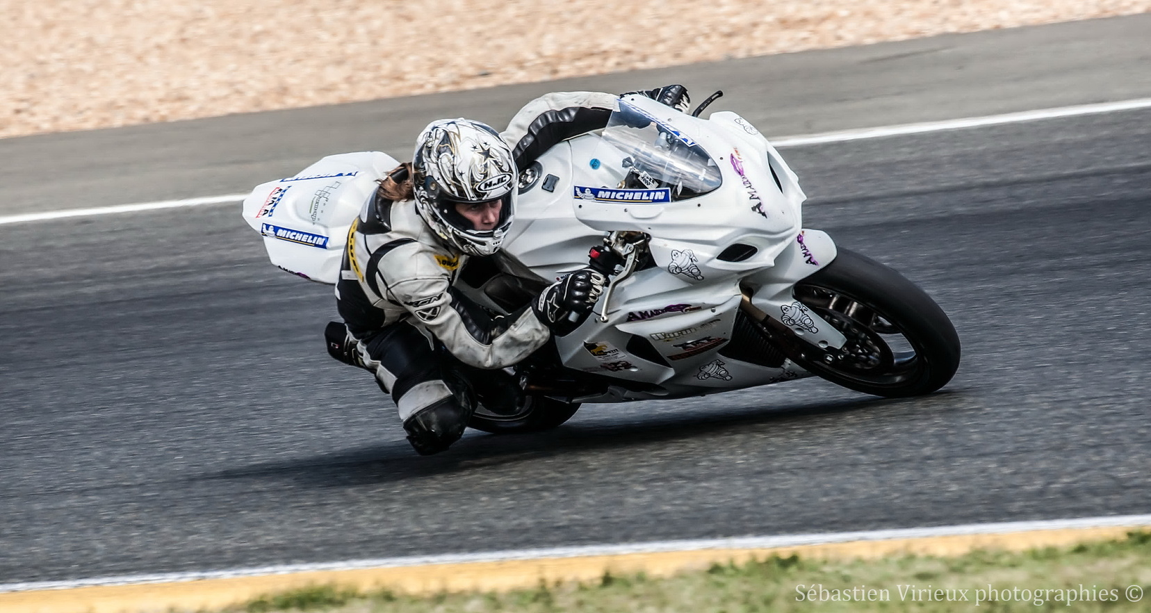 Essais pré-mans Team Amazone Fire au 24H du Mans moto
