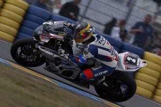 Guy Martin aux essai des 24H du Mans moto