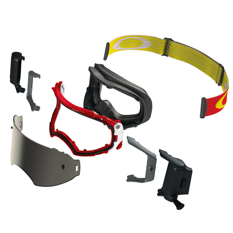 Masque cross Oakley Airbrake MX éclaté