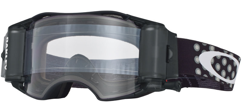 Masque cross Oakley Airbrake MX Race-Ready avec Roll-Off