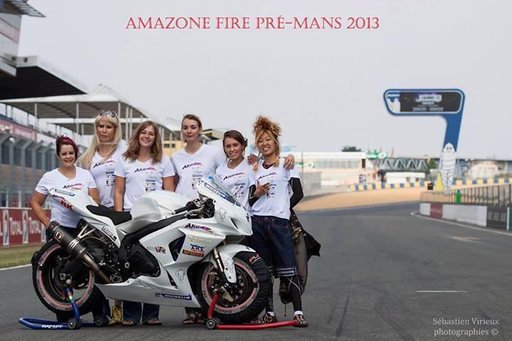 Team Amazone Fire au 24H du Mans Moto