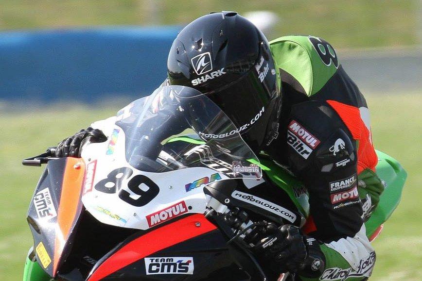 Axel Maurin en course