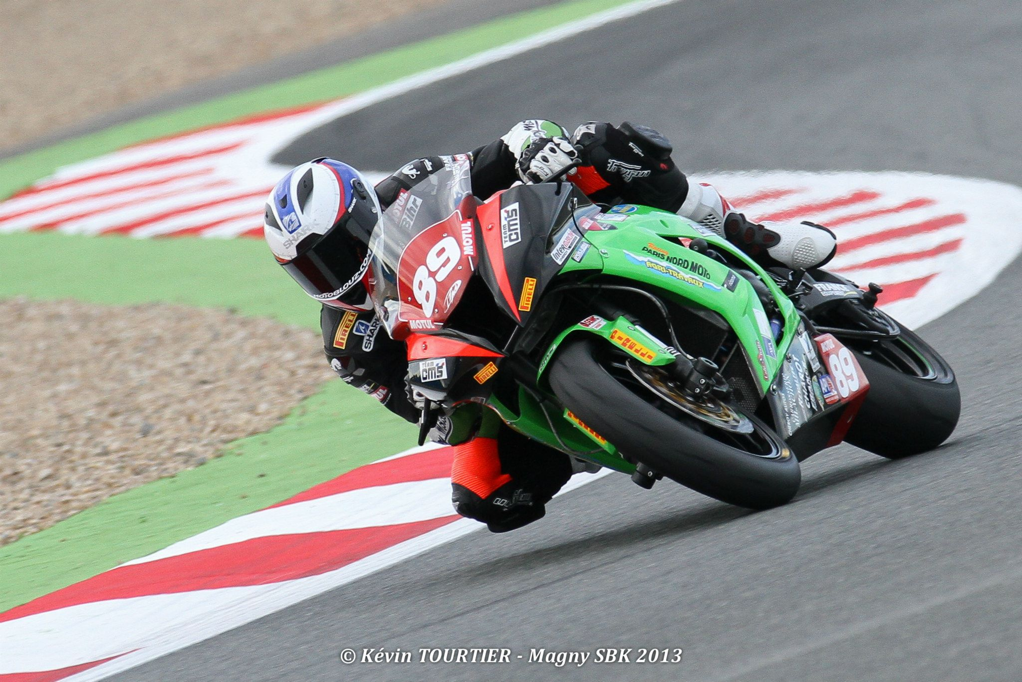Axel Maurin wild card au Superstock de Magny Cours 2013