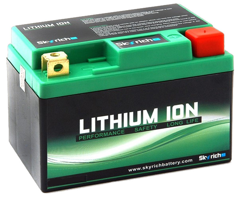 La batterie moto Lithium-Ion,  solution miracle ?