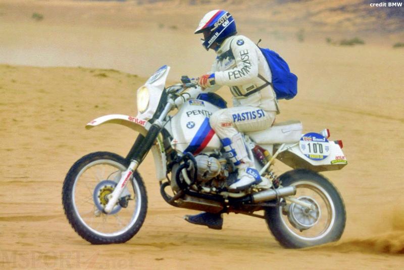 BMW R 100 GS Auriol, Paris-Dakar 1981