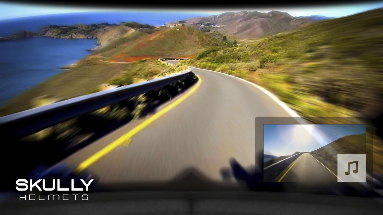 Casque moto Skully Helmets P1 : Aperçu du rendu