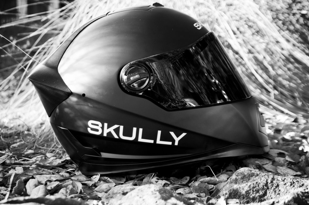 Le Skully Helmets P1, version beta