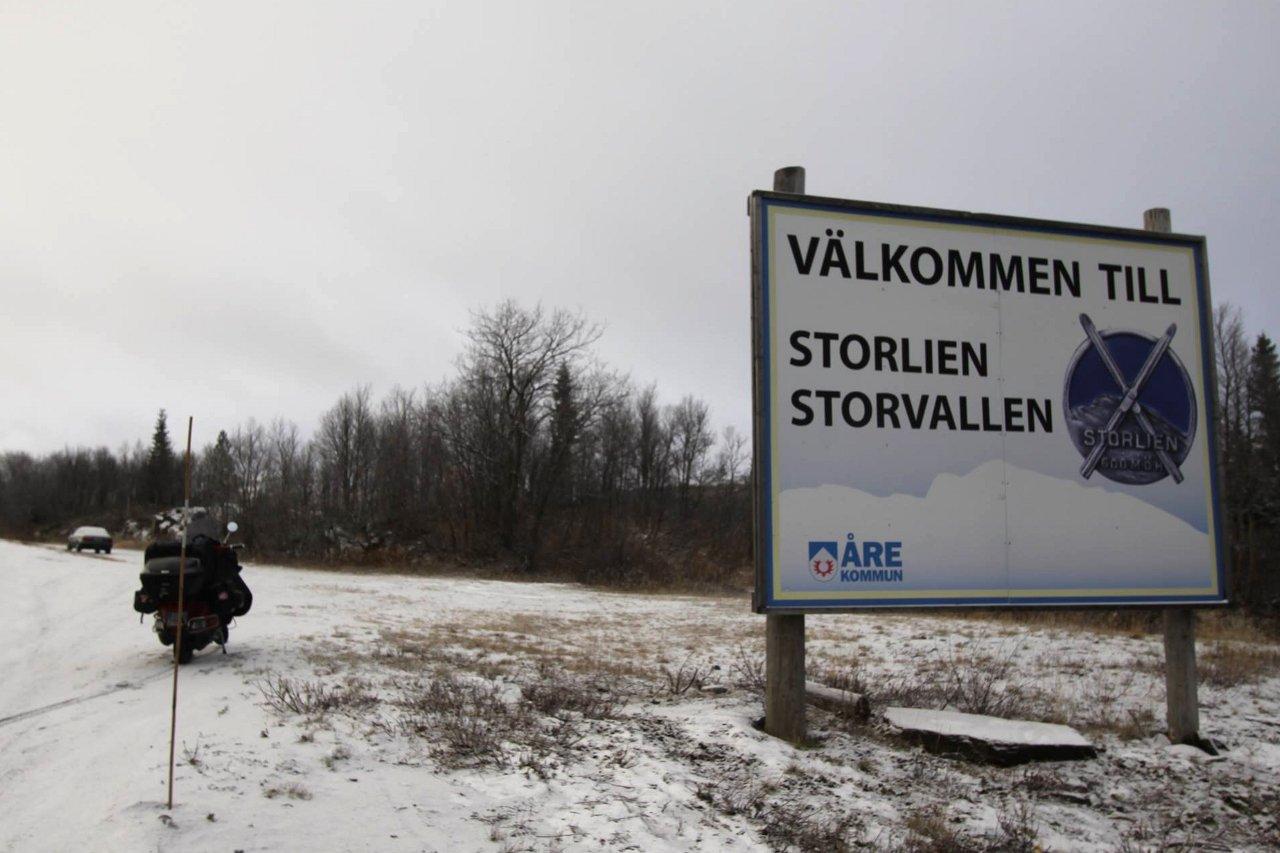 Didier Vacher à Storlien (Suède)