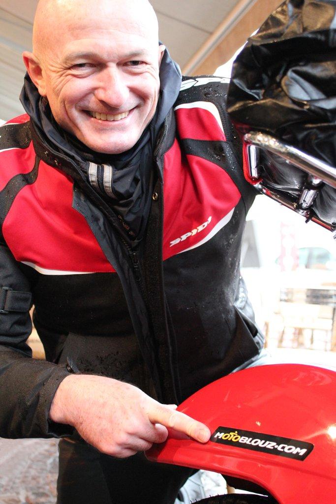 Didier Vacher World Tour, sponsorisé par Motoblouz