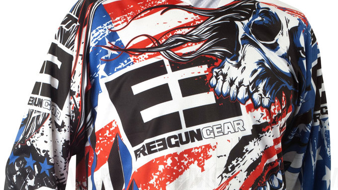 Maillot Shot Freegun US 2014