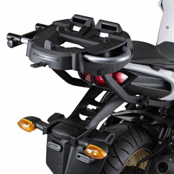Platine top case Givi M6M Monolock montée
