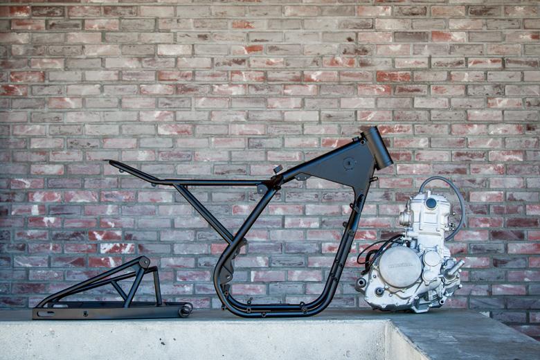 Une future Honda XR650R Café Racer