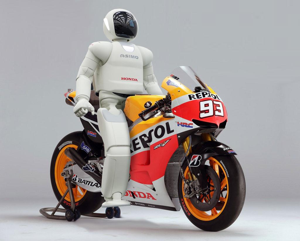 La Honda RCV de Marquez serait-elle partiellement pilotée par Asimo ?