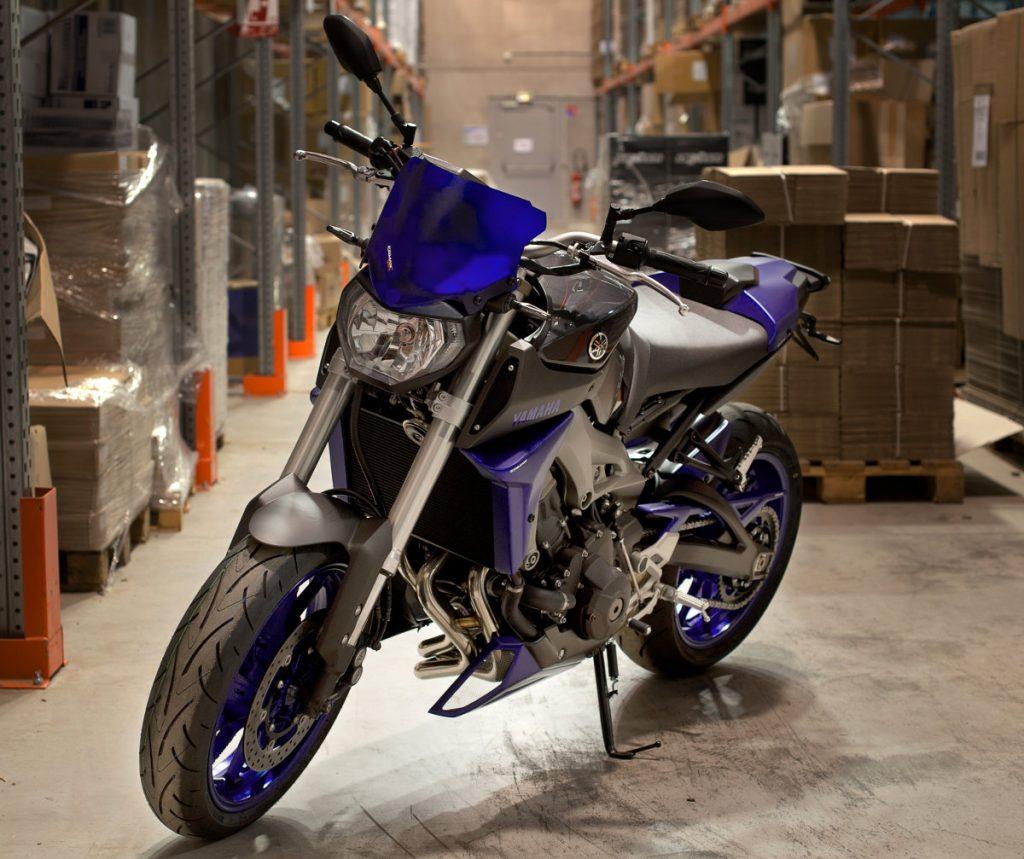 La Yamaha MT-09 du concours Motoblouz
