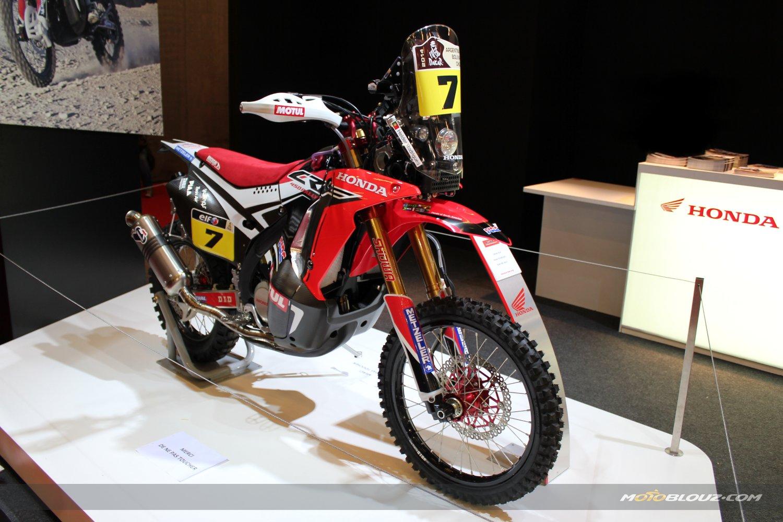 La Honda CRF 450 Rally spéciale Dakar