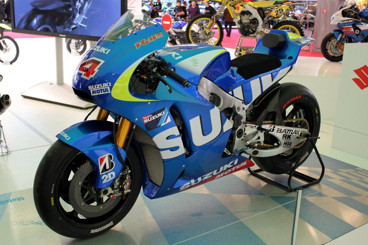 Le prototype Suzuki pour Randy de Puniet