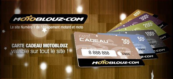 La Carte Cadeau Motoblouz, une idée de génie pour un Noël motard !