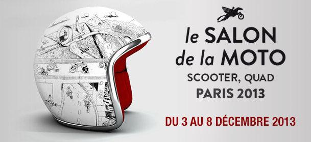 Visuel Salon de la moto 2013