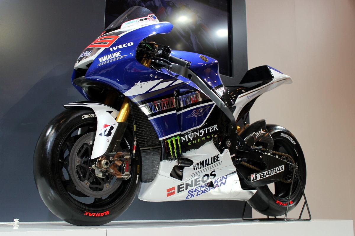 La Yamaha M1 de Jorge Lorenzo