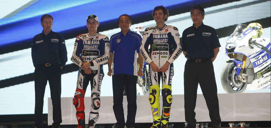 Rossi, Lorenzo et les pontes de chez Yamaha