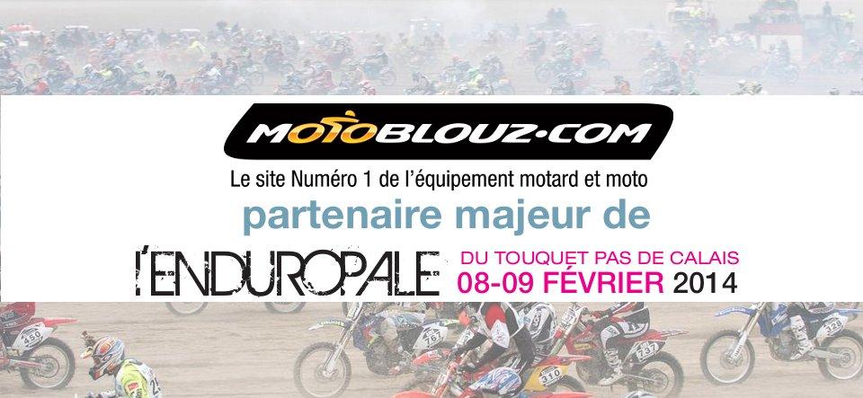 Motoblouz partenaire de l'Enduropale 2014