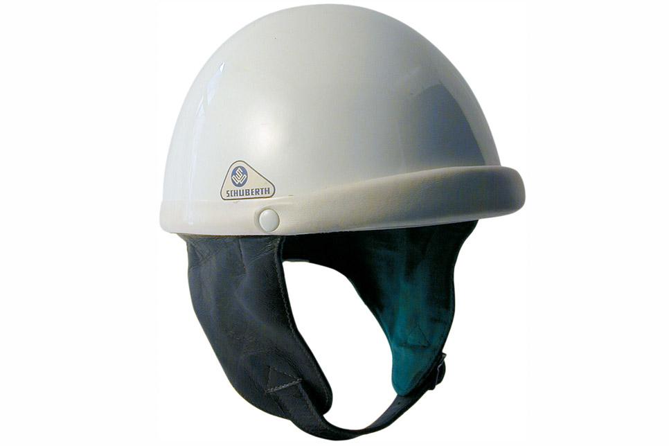 Le premier casque moto