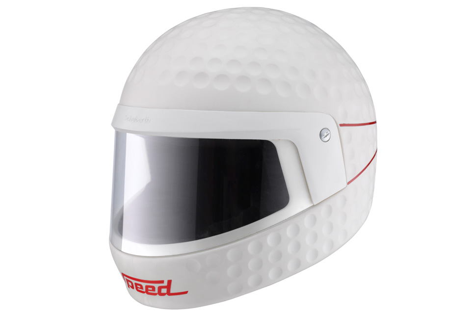 Casque aérodynamique Schuberth Speed, 1984