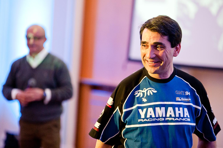 Christophe Guyot, invité surprise de la conférence de Presse