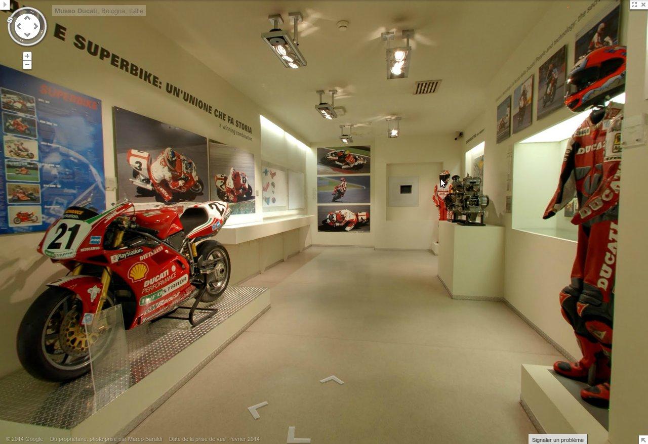 La Ducati 916 Infostrada de Fogarty