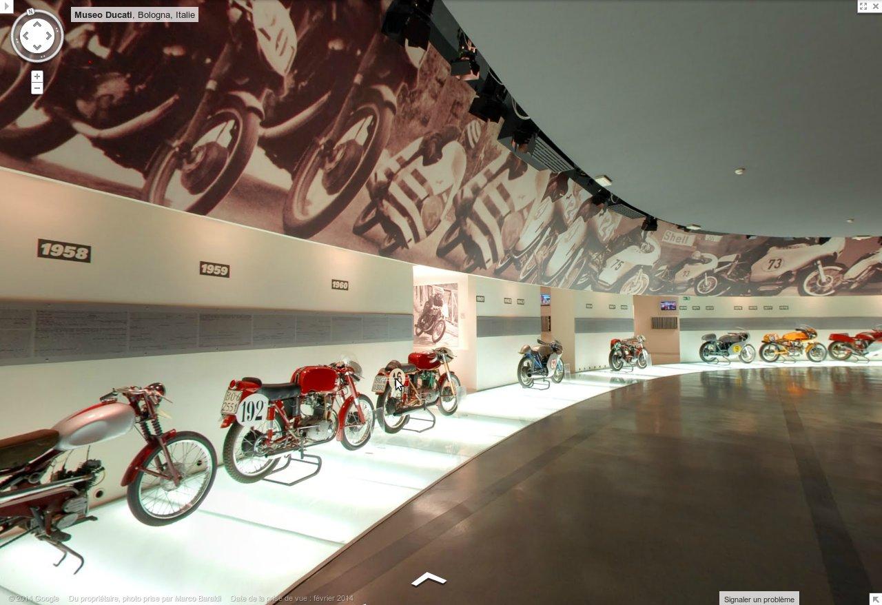 Musée Ducati : Les motos historiques