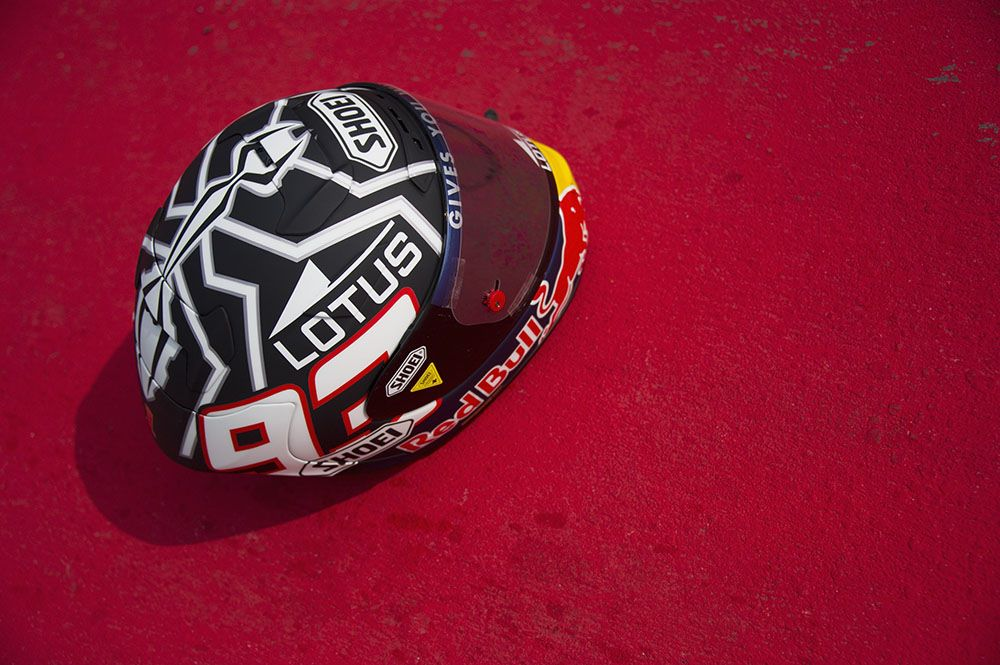 Shoei S-spirit 2 Marc Marquez Winter Tests