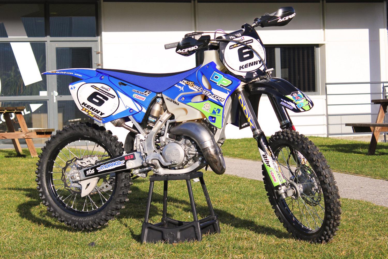 La Yamaha YZ125 2T Motoblouz d'Aymerick Dupont