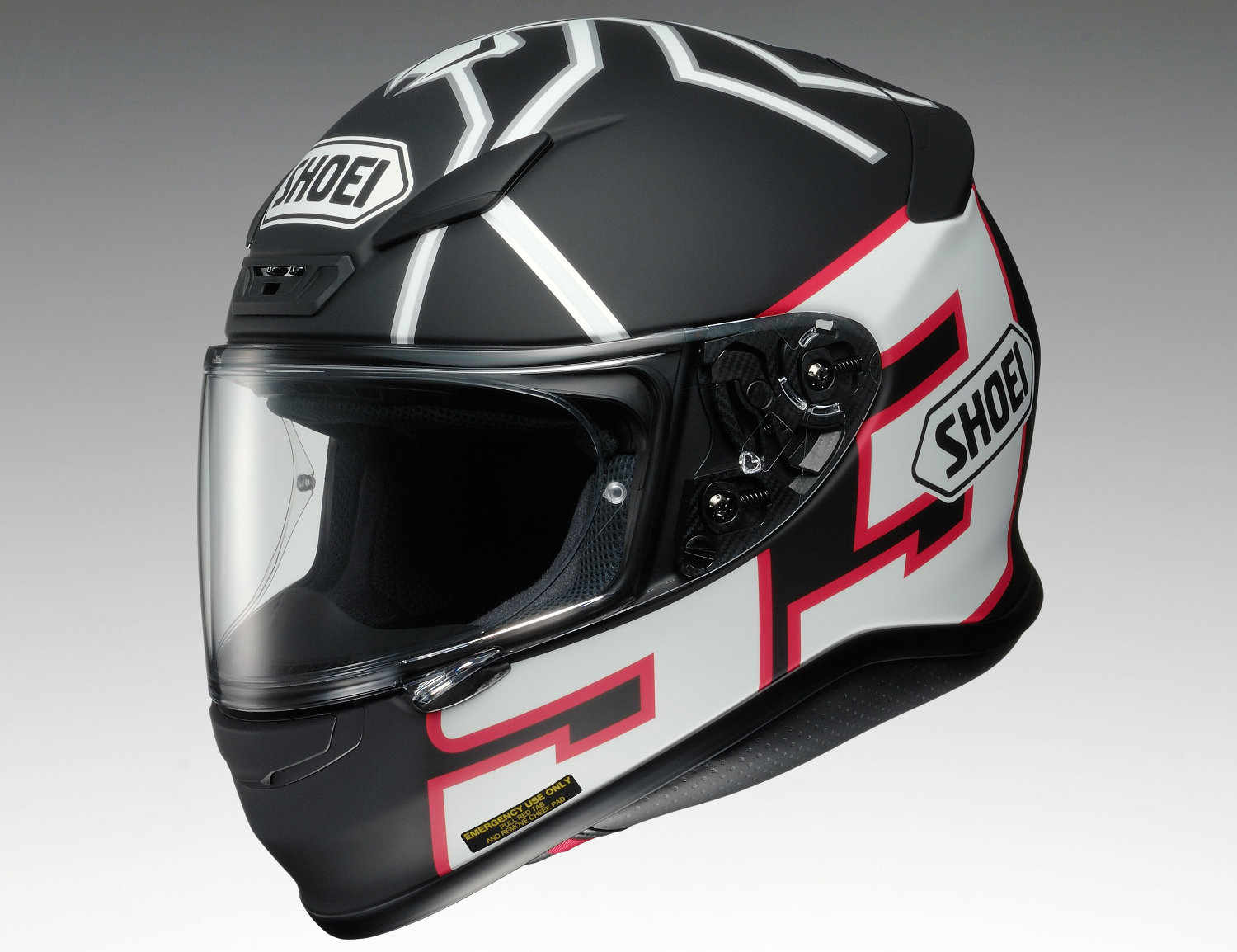 Casque Shoei NXR Black Ant Marquez Replica 2014