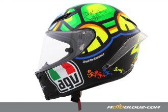 Le casque AGV Corsa Tartaruga Rossi