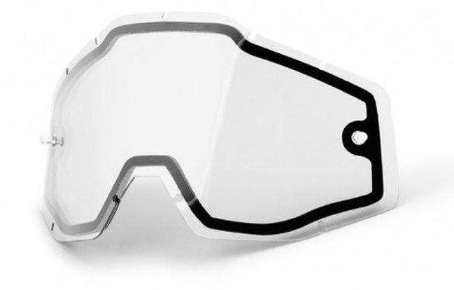 Un écran double clair anti-buée