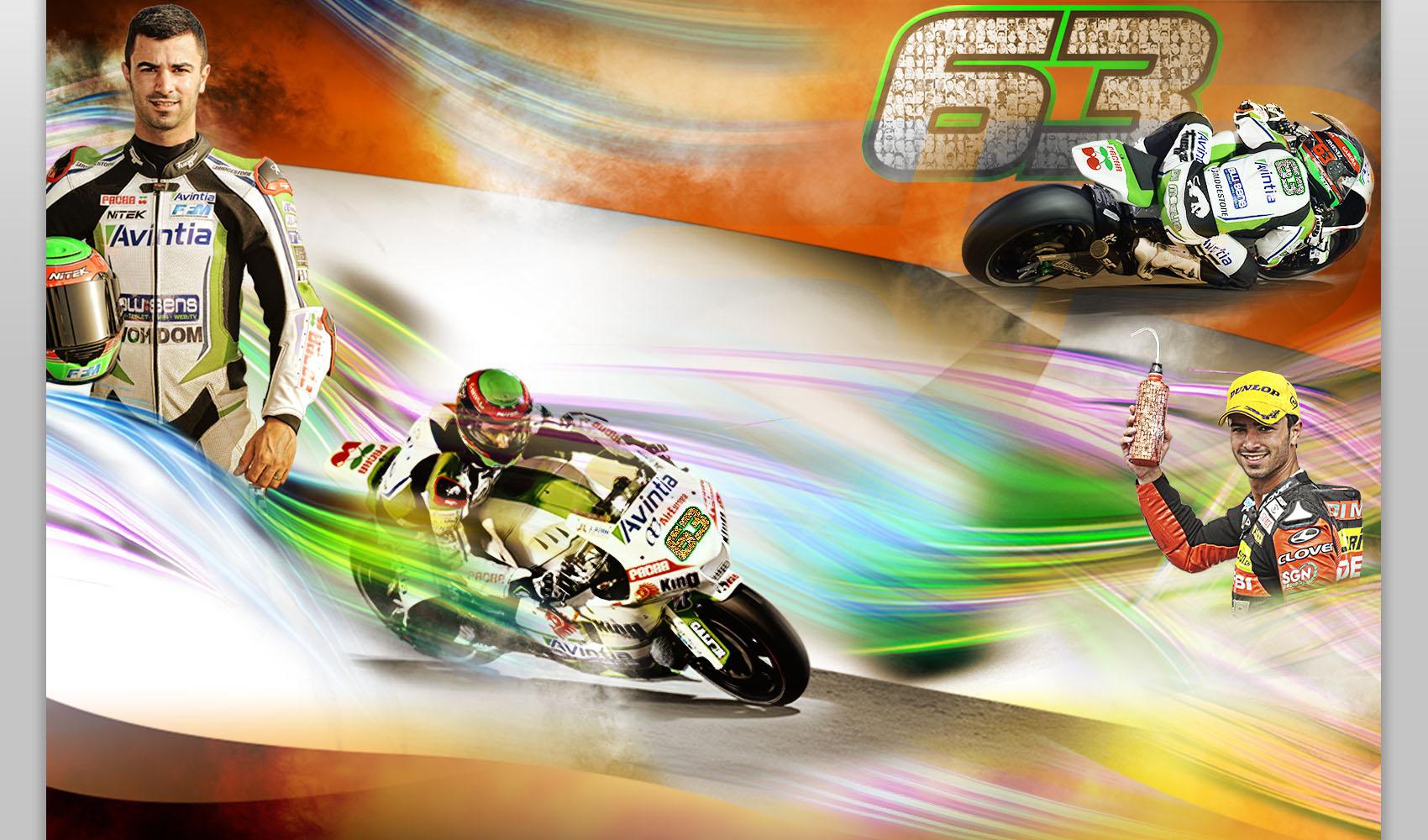 Votre nom sur la moto de Mike Di Meglio !