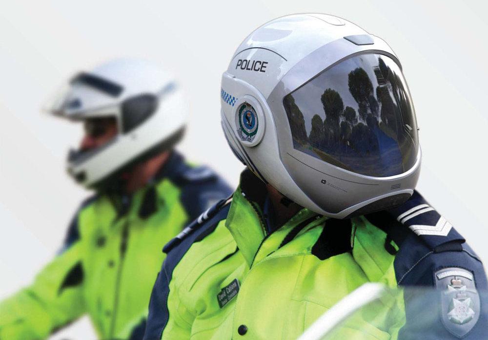 casque moto police forcite une avanc e pour les forces de. Black Bedroom Furniture Sets. Home Design Ideas