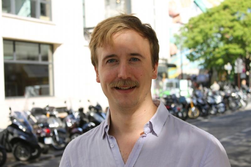 Francois Jaubert, fondateur de Mains Lib'